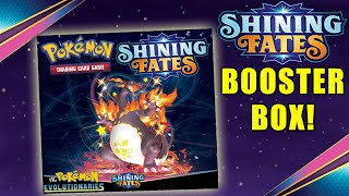 SHINING FATES BOOSTER BOX! Opening 36 packs of Shining Fates Pokemon Cards! by The Pokémon Evolutionaries