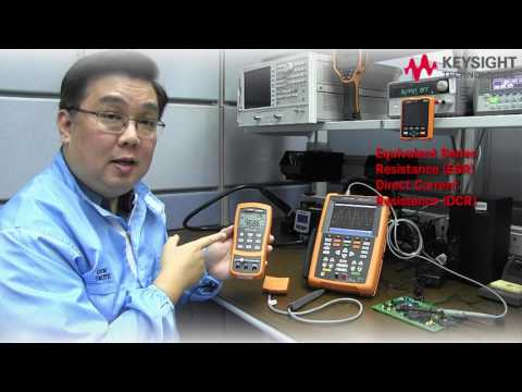 Troubleshooting electronics board with Keysight's Handheld instruments