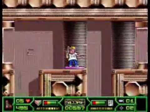 [DOS] Cyril Cyberpunk -- Gameplay