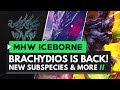 Monster Hunter World Iceborne | BRACHYDIOS IS BACK! New Subspecies, Glavenus Gameplay & More!
