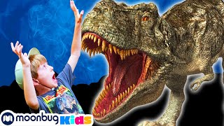 Dinosaur at the State Fair | Jurassic Tv | Dinosaurs and Toys | T Rex Family Fun