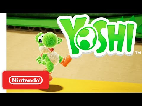 Yoshi for Nintendo Switch - Official Game Trailer - Nintendo E3 2017 thumbnail