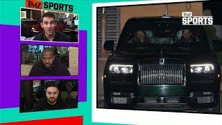Tom Brady QB's Rolls-Royce In Malibu, Aston Martin In the Shop? | TMZ Sports