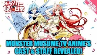 Miia  - (Monster Musume: Everyday Life with Monster Girls) - Monster Musume TV Anime's Cast, Staff Revealed! Voices for Miia, Papi & Centorea! Begins July 2015!