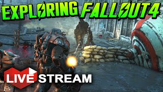Fallout 4 Gameplay Part 1 | Exploration & Surviving the Wasteland!! - Live Stream (No Spoilers)