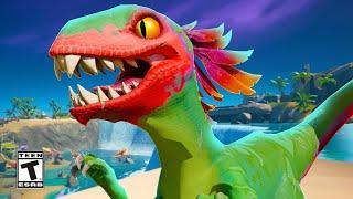 Fortnite Raptors Dinosaur Trailer #shorts