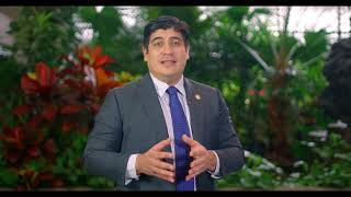 Message from the President of Costa Rica on Biodiversity Day 2020