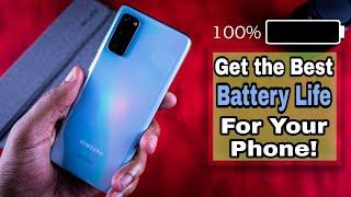 Galaxy S20 Battery Life Optimization Tips!