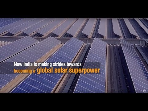 India is transforming the market for rooftop solar