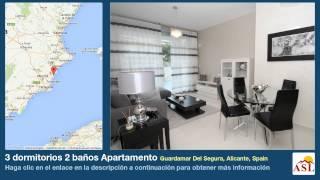 preview picture of video '3 dormitorios 2 baños Apartamento se Vende en Guardamar Del Segura, Alicante, Spain'