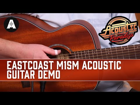 EastCoast M1SM Travel Acoustic Guitar Demo - The Best Affordable Acoustic Guitars!