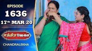 CHANDRALEKHA Serial   Episode 1636   17th Mar 2020   Shwetha   Dhanush   Nagasri   Arun   Shyam