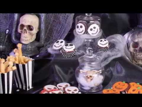 Halloween Deko-Ideen zum Motto Skelett