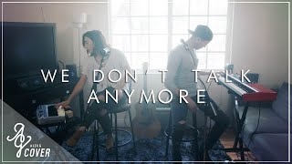 We Don't Talk Anymore by Charlie Puth ft. Selena Gomez | Alex G  TJ Brown Cover (Loop Pedal)