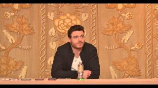Lily James, Richard Madden, and Cate Blanchett Interview Audio Clips