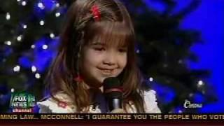Gambar cover 5 year old Kaitlyn Maher sings Away In A Manger - Fox and Friends Christmas Special