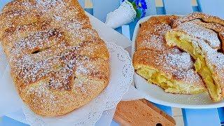 Рецепт пирога с творогом и яблоками.Пирог к чаю. Как же это вкусно!!!!