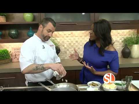 Chef James King from EVO Scottsdale prepares fall flavors