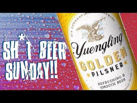 Sh*t Beer Sunday   Yuengling Golden Pilsner