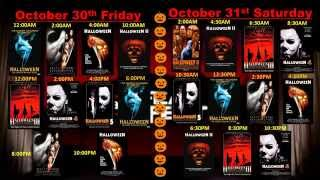 AMC FEAR FEST 2015 Full Horror Movie Schedule (Oct.18th-Oct.31st)