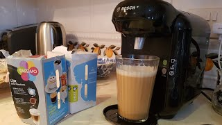 TASSIMO BOSCH VIVY 2 HOW TO MAKE A HOT DRINK SIMPLE!!!
