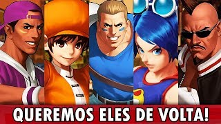 TOP 10 - PERSONAGENS ESQUECIDOS DO KOF | KOF da Depressão
