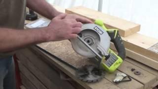 How to insert a ryobi jigsaw blade most popular videos change the blade on a circular saw my ryobi cordless saw gets new life greentooth Gallery