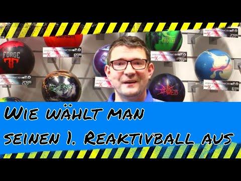 Wie wählt man seinen 1. Reaktivball aus - Bowling Tipp für Anfänger - Bowling Tech Talk Episode 9