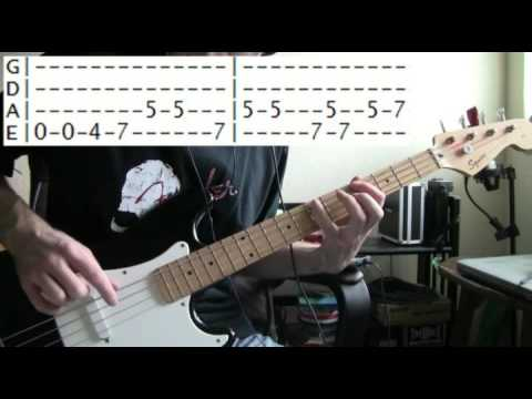 bass guitar lessons online Stevie ray vaughan crossfire tab