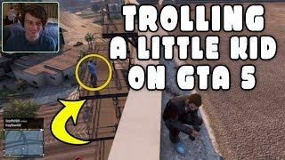 GTA 5 ONLINE - TROLLING Little Kids on GTA 5 (Funny Deaths & Kills!)