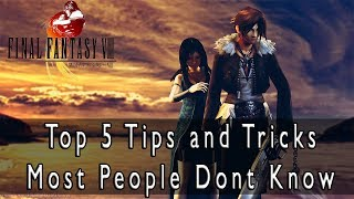 Final Fantasy VIII - Top 5 Tips and Tricks Most People Dont Know