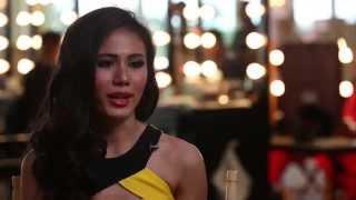 Sharr Htut Eaindra Myanmar Miss Universe 2014 Official Interview