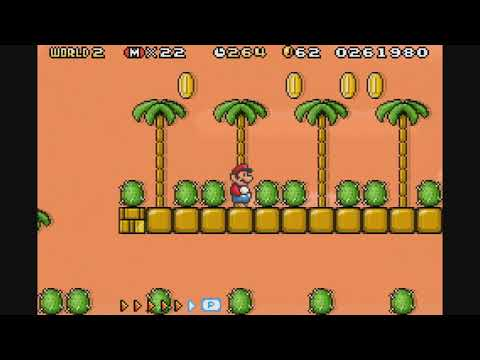 Super Mario Advance 4: Super Mario Bros  3 Walkthrough - Super Mario