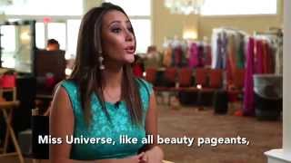 Claudia Tavel Bolivia Miss Universe 2014 Official Interview