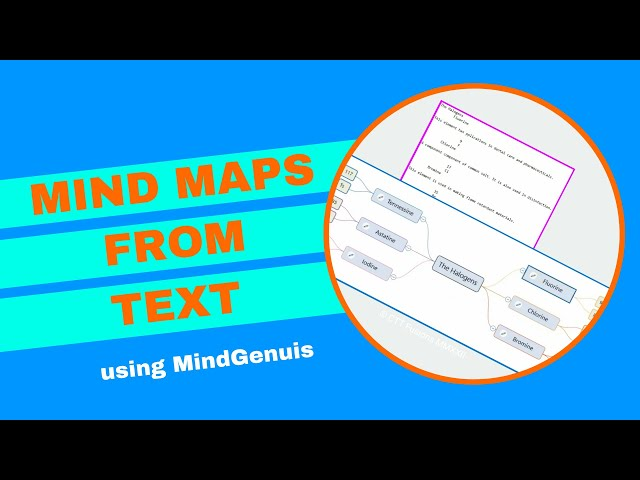 Mind Maps from Text  Tutorial