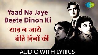 Yaad Na Jaye Beete Dinon Ki with lyrics   याद ना