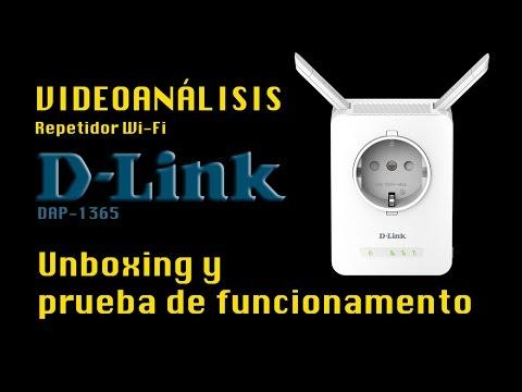 UNBOXING REVIEW - Repetidor Wi-Fi doméstico D-Link DAP-1365
