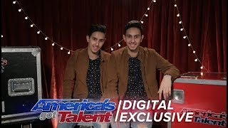 A Peek Behind the Magic with Twin Magicians Tony and Jordan  - America