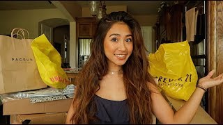 back to school try on clothing haul 2018... yes i spent more money on clothes