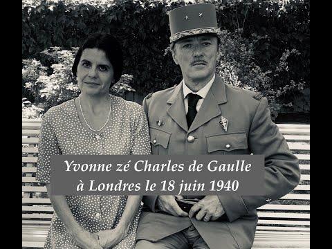 Yvonne zé Charles de Gaulle confinés à Londres le 18 juin 40 : ToizéMoi, Couples et Confinement ! #9