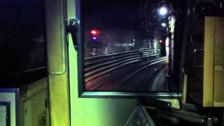 御堂筋線梅田駅通過