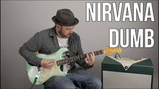 "How to Play ""Dumb"" by Nirvana on guitar - Guitar Lesson"