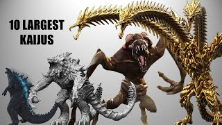 Top 10 Largest Kaiju in Movies