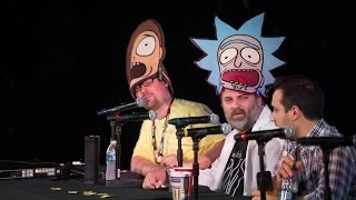Rick and Morty Live Reading @ Comic-Con