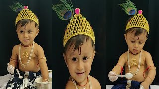 Sri Krishna Janmashtami Baby Photoshoot Ideas | Most Adorable #PhotoshootIdeas at Home - Download this Video in MP3, M4A, WEBM, MP4, 3GP