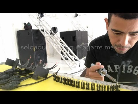 como hacer cables de microfono