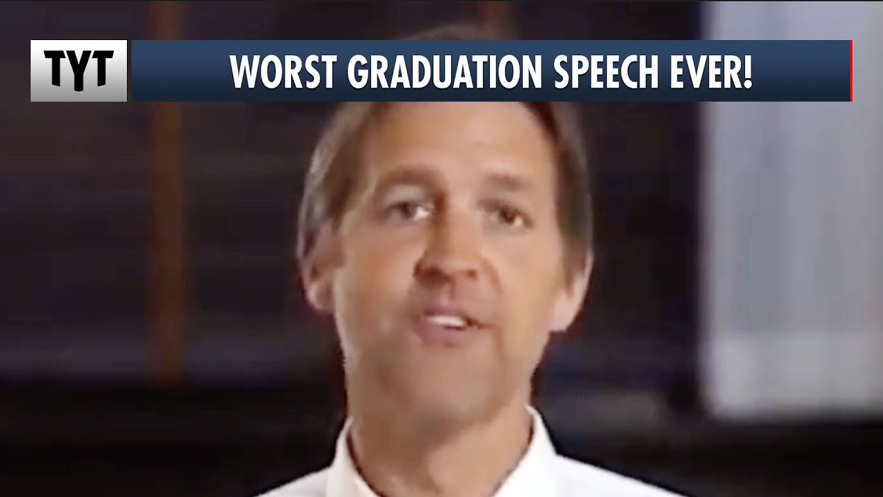 Republican Gives Worst Commencement Speech EVER thumbnail