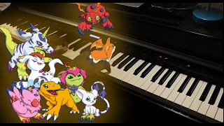 Digimon 2   Break UpWir Drehen Auf [Piano Cover]