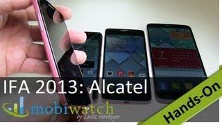 Alcatel mit 4 neuen Smartphones für Deutschland: Hands-On-Video