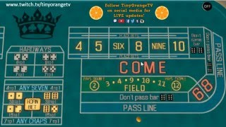 """Craps guide for beginners Vid 1: The Field Bet, probabilites, and the """"Gamblers Fallacy"""""""